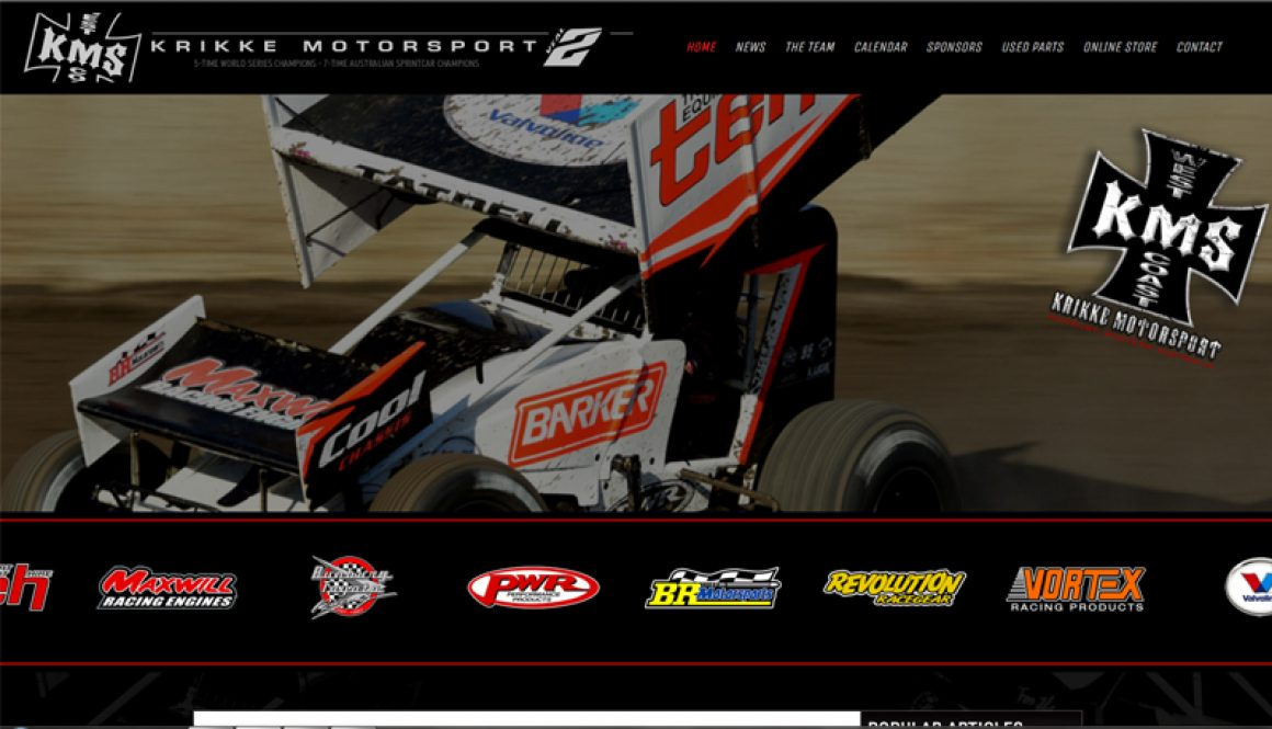 Krikke Motorsport Launch New Website
